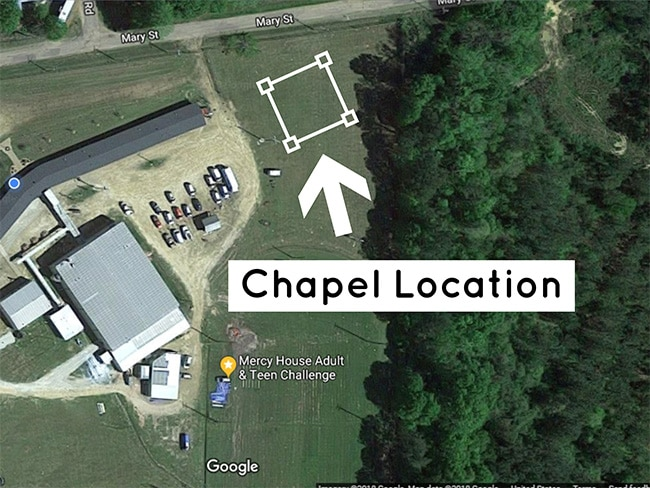 Google Satellite Chapel Spot