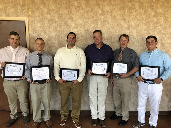 November Graduates with Certificates