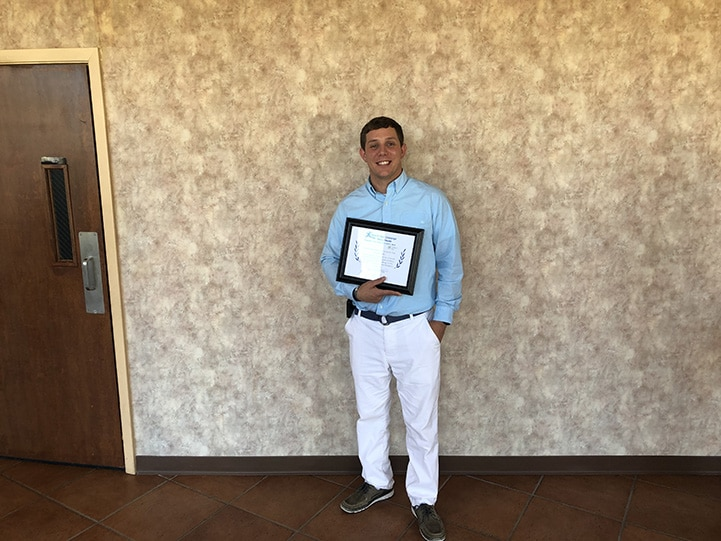November Graduate Caleb